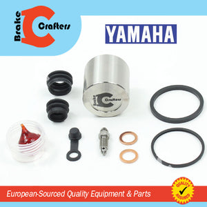 Brakecrafters Caliper Rebuild Kit 1982 - 1983 YAMAHA XJ650L TURBO SECA - FRONT BRAKE CALIPER SEAL & STAINLESS STEEL PISTON KIT