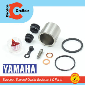 Brakecrafters Caliper Rebuild Kit 1984 - 1989 YAMAHA XT600 TENERE - FRONT BRAKE CALIPER SEAL & STAINLESS STEEL PISTON KIT