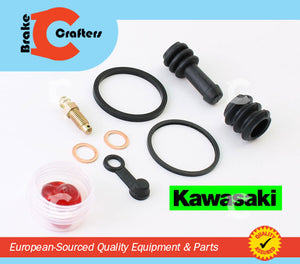 Brakecrafters Caliper Rebuild Kit 1994 - 1999 KAWASAKI ZR 550 ZEPHYR REAR BRAKE CALIPER SEAL KIT