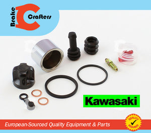 Brakecrafters Caliper Rebuild Kit 2003 - 2006 KAWASAKI Z1000 - ZR1000 - REAR BRAKE CALIPER PISTON & SEAL KIT