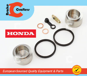 1975 - 1976 HONDA CB750F SUPERSPORT - REAR BRAKE CALIPER NEW SEAL & STAINLESS STEEL PISTON KIT
