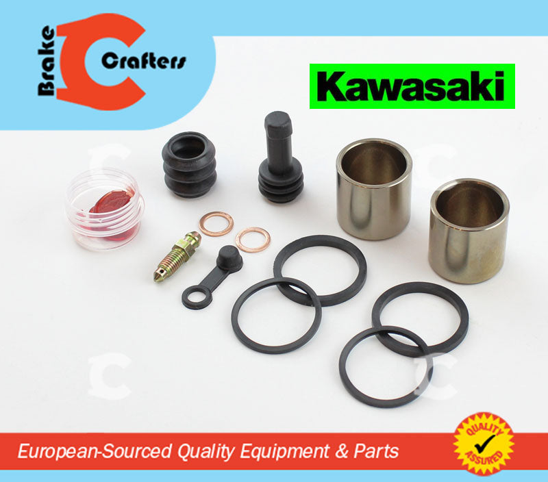 Brakecrafters Caliper Rebuild Kit 1996 - 2006 KAWASAKI VN800 'VULCAN' - FRONT BRAKE CALIPER PISTON AND SEAL KIT