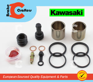 Brakecrafters Caliper Rebuild Kit 2006 - 2009 KAWASAKI VN900 'VULCAN' - REAR BRAKE CALIPER PISTON AND SEAL KIT