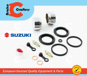 Brakecrafters Caliper Rebuild Kit 1985 - 1987 SUZUKI RG500 GAMMA - REAR BRAKE CALIPER SEAL & PISTON KIT