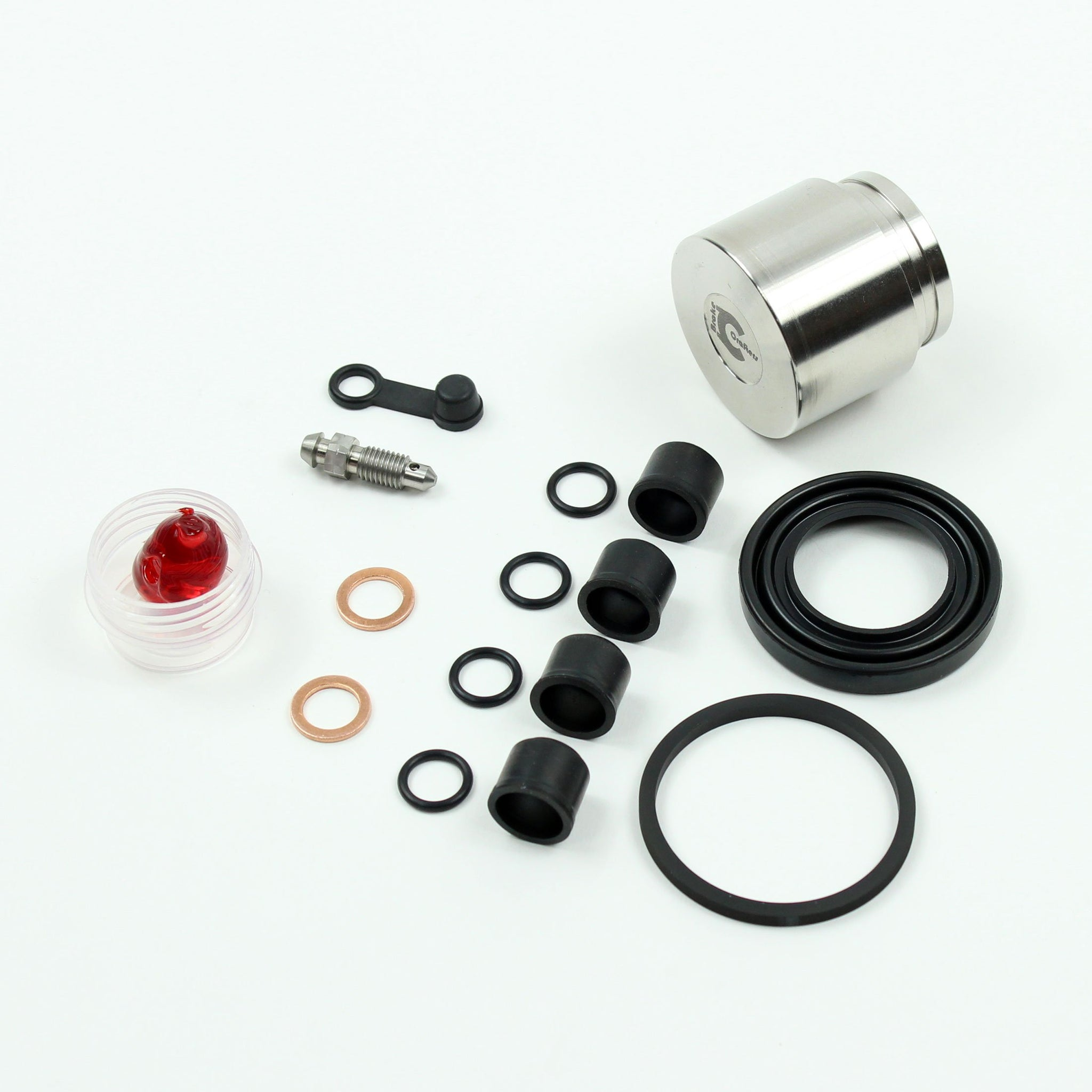 Brakecrafters Front Brake Caliper Rebuild Seal and Piston Kit BC22HP
