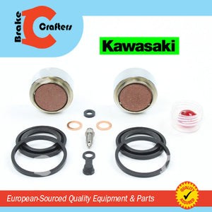 Brakecrafters Caliper Rebuild Kit 1978 - 1979 KAWASAKI KZ650D SR - REAR BRAKE CALIPER PISTON & SEAL KIT