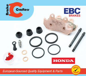 1989 - 1990 HONDA XL 600 V TRANSALP - FRONT CALIPER SEAL KIT & EBC HH BRAKE PADS