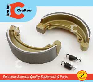 Brakecrafters Brake Pads 1974 - 1976 HONDA CB360 - REAR EBC 315 MOTORCYCLE BRAKE SHOES