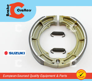 1980 - 1988 SUZUKI GS450L - REAR EBC 606 MOTORCYCLE BRAKE SHOES