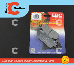 Brakecrafters Brake Pads 1991 - 2002 HONDA ST1100 PAN EUROPEAN - REAR EBC PERFORMANCE ORGANIC BRAKE PADS