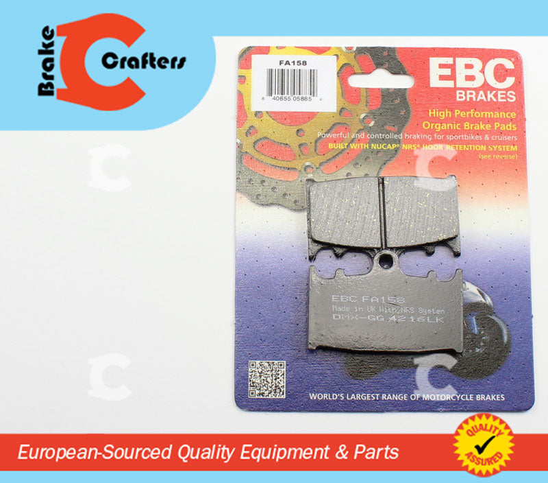 EBC HH Front Brake Pads For Honda 1996 RVF750 RR-RS RC45