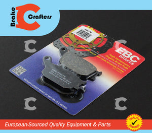 2000 - 2001 HONDA CBR929RR - REAR EBC PERFORMANCE ORGANIC BRAKE PADS