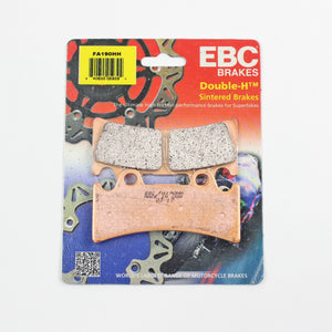 Brakecrafters Brake Pads 1994 - 1997 Triumph Daytona Super III - Front EBC HH Rated Sintered Brake Pads - 1 Pair