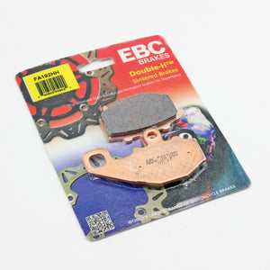 Brakecrafters Brake Pads 2007 - 2012 Kawasaki ZX600 Ninja ZX-6R - Rear EBC HH Rated Sintered Brake Pads - 1 Pair