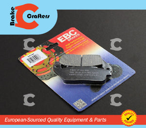 Brakecrafters Brake Pads 1994 - 2007 HONDA VT600 C/CD/CD2 'SHADOW' - FRONT EBC PERFORMANCE ORGANIC BRAKE PADS