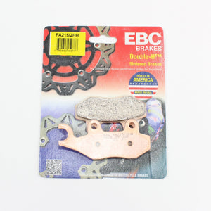 Brakecrafters Brake Pads 1993 - 1998 TRIUMPH DAYTONA 1200 - REAR EBC HH RATED SINTERED BRAKE PADS
