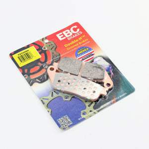 Brakecrafters Brake Pads 2007 - 2017 TRIUMPH STREET TRIPLE 675 - FRONT EBC HH RATED SINTERED BRAKE PADS - 1 PAIR