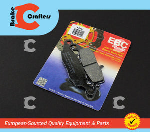 Brakecrafters Brake Pads 2000 - 2003 SUZUKI GSF600 BANDIT - FRONT RIGHT EBC PERFORMANCE ORGANIC BRAKE PADS
