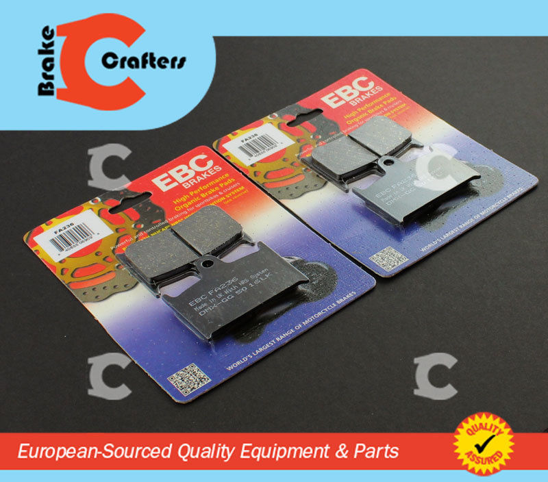 TRIUMPH 650 DAYTONA REAR BRAKE PADS EBC