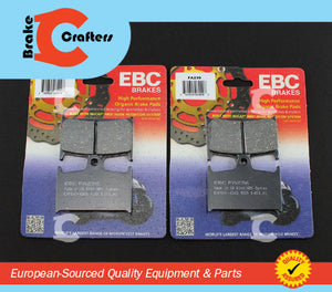 Brakecrafters Brake Pads 1994 - 2001 TRIUMPH TROPHY 900 - FRONT EBC PERFORMANCE ORGANIC BRAKE PAD