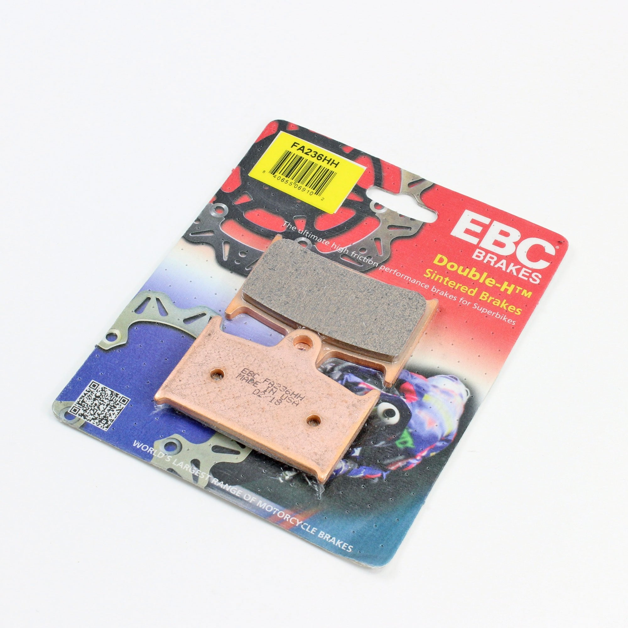 Brakecrafters Brake Pads 1994 - 2001 TRIUMPH TROPHY 900 - FRONT EBC HH RATED SINTERED BRAKE PADS