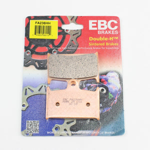 Brakecrafters Brake Pads 2002 - 2005 TRIUMPH SPEEDFOUR 600 - FRONT EBC HH RATED SINTERED BRAKE PADS