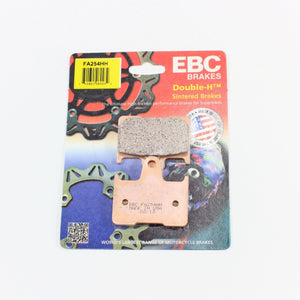 Brakecrafters Brake Pads 2012 - 2017 KAWASAKI ZX1400 NINJA ZX-14R - REAR EBC HH RATED SINTERED BRAKE PADS - 1 PAIR