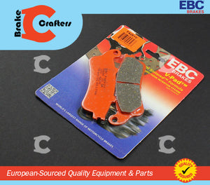 1998 - 2009 HONDA VFR800 INTERCEPTOR - REAR EBC SEMI SINTERED V BRAKE PADS
