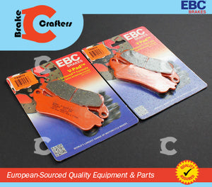 1998 - 2005 HONDA VFR800 INTERCEPTOR - FRONT EBC SEMI SINTERED V BRAKE PADS - 2 PAIR