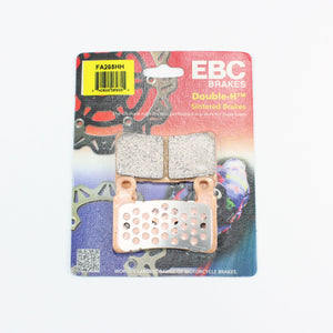 Brakecrafters Brake Pads EBC FA265HH Rated Sintered Brake Pads - 1 Pair