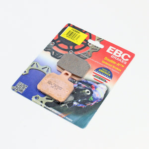 Brakecrafters Brake Pads EBC FA266HH RATED SINTERED REAR BRAKE PADS - 1 PAIR
