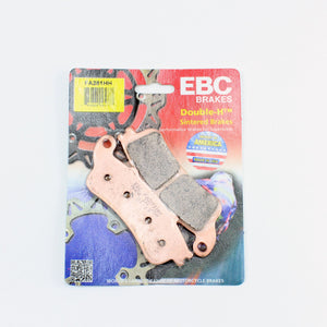 Brakecrafters Brake Pads 2015 - 2016 KAWASAKI EN 650 VULCAN S - FRONT EBC PERFORMANCE HH RATED SINTERED BRAKE PADS