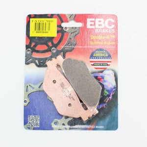 Brakecrafters Brake Pads 2011 - 2014 YAMAHA XVS1300 STRYKER - REAR EBC HH RATED SINTERED BRAKE PADS - 1 PAIR