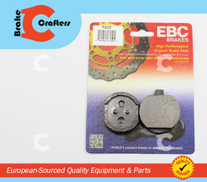 1977 - 1978 KAWASAKI KZ1000B LTD - FRONT EBC PERFORMANCE ORGANIC BRAKE PADS