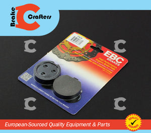 1979 SUZUKI GS425 - FRONT EBC PERFORMANCE ORGANIC BRAKE PADS