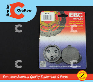 1977 - 1978 SUZUKI GS400 - FRONT EBC PERFORMANCE ORGANIC BRAKE PADS