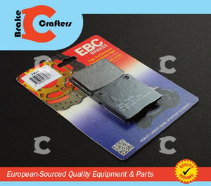1977 - 1981 SUZUKI GS550 - REAR EBC PERFORMANCE ORGANIC BRAKE PADS