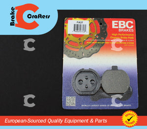 1976 - 1979 KAWASAKI KZ750B - REAR EBC PERFORMANCE ORGANIC BRAKE PADS