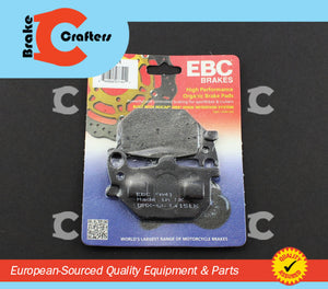 EBC Brake Pads Brake Pads 1980 - 1981 YAMAHA XS850 - FRONT RIGHT EBC PERFORMANCE ORGANIC BRAKE PADS