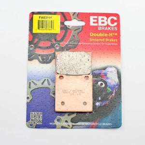Brakecrafters Brake Pads 1983 - 1986 Suzuki GS550L- Front EBC HH Rated Sintered Brake Pads - 1 Pair