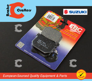 1980 - 1982 SUZUKI GS550 - FRONT EBC PERFORMANCE ORGANIC BRAKE PADS
