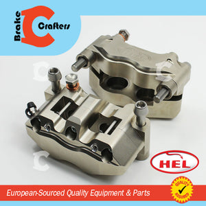 HEL PERFORMANCE 4 PISTON BILLET 108mm BRAKE CALIPERS