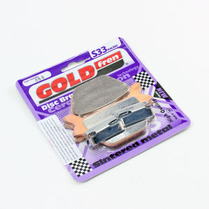 Brakecrafters Brake Pads GOLDfren S33-056 Ceramic Carbon Brake Pads - 1 Pair