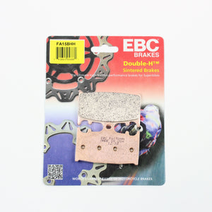 Brakecrafters Brake Pads 2007 - 2010 Suzuki GSF1250S Bandit - Front EBC HH Rated Sintered Brake Pads - 1 Pair