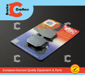Brakecrafters Brake Pads 1979 - 1980 HONDA CBX1000 SUPERSPORT - FRONT EBC PERFORMANCE ORGANIC BRAKE PADS