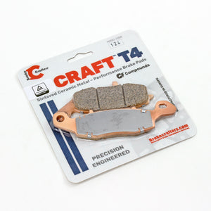 2006 - 2020  SUZUKI VZR 1800 BOULEVARD - REAR CRAFT T4 CERAMIC BRAKE PADS - 1 PAIR