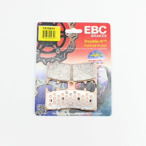 Brakecrafters Brake Pads 2001 - 2005 Suzuki GSF1200 Bandit - Front EBC HH Rated Sintered Brake Pads - 1 Pair