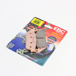 Brakecrafters Brake Pads 1990 - 1991 Honda CBR1000F Hurricane - Rear EBC HH Rated Sintered Brake Pads - 1 Pair