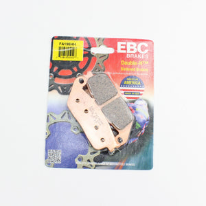 Brakecrafters Brake Pads 2012 - 2014 Honda NC700X - Front EBC HH Rated Sintered Brake Pads - 1 Pair