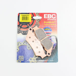 Brakecrafters Brake Pads 2000 - 2007 BMW F650CS Scarver - Front EBC HH Rated Sintered Brake Pads - 1 Pair
